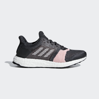UltraBOOST ST Shoes Carbon / Ftwr White / Grey Six B75864