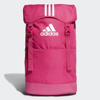 กระเป๋าสะพายหลัง 3-Stripes Real Magenta / White / White DT8656