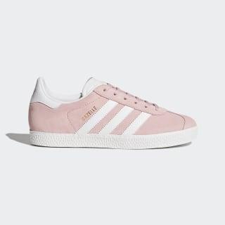 Gazelle sko Icey Pink/Ftwr White/Gold Metallic BY9544
