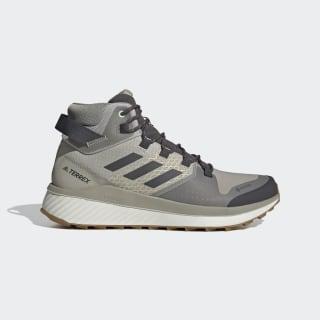 Кроссовки для хайкинга Terrex Folgian Mid GORE-TEX Feather Grey / Dgh Solid Grey / Green Tint EF0366
