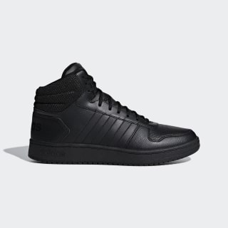 Sapatos Hoops 2.0 Mid Core Black / Core Black / Core Black F34809