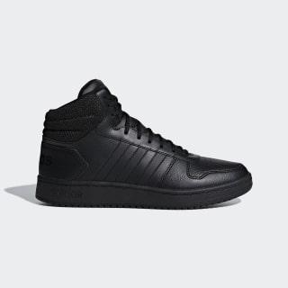 Высокие кроссовки Hoops 2.0 Core Black / Core Black / Core Black F34809