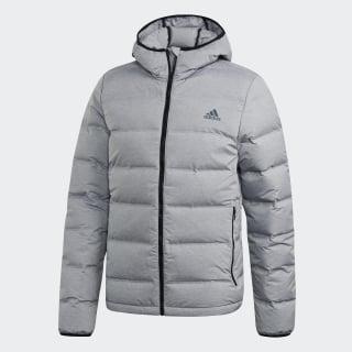 Chaqueta con capucha Helionic Medium Grey Heather CZ1386