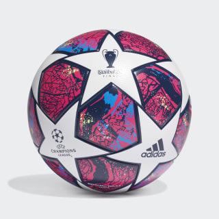 Ballon UCL Finale Istanbul League White / Pantone / Glory Blue / Dark Blue FH7340