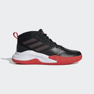 Scarpe Own the Game Wide Core Black / Active Red / Cloud White EF0309