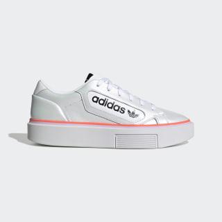 adidas Sleek Super Shoes Cloud White / Clear Lilac / Signal Coral EF4956