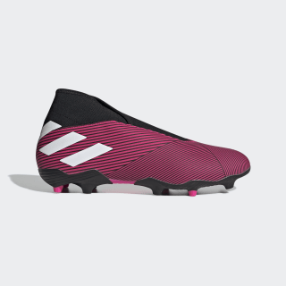 Botines Nemeziz 19.3 Terreno Firme Shock Pink / Cloud White / Core Black EF0372