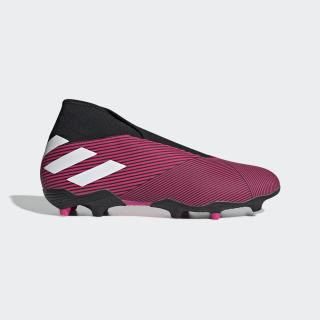 Zapatos de Fútbol Nemeziz 19.3 Terreno Firme Shock Pink / Cloud White / Core Black EF0372