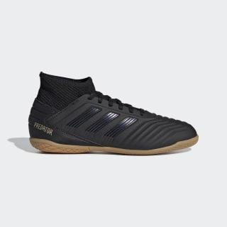 Zapatilla de fútbol sala Predator Tango 19.3 Indoor Core Black / Core Black / Gold Met. G25805