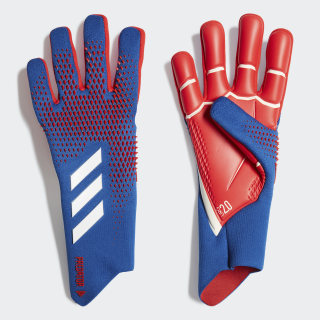 Predator 20 Pro Torwarthandschuhe Team Royal Blue / Active Red FS6579