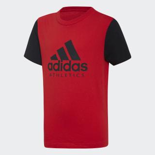 Polera Sport ID VIVID RED/BLACK DI0161