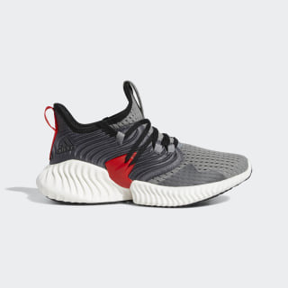 Alphabounce Instinct Shoes Grey / Core Black / Active Red F36807