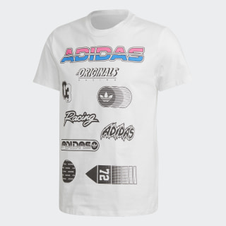 Graphic Tee White DH4255