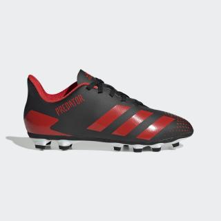 Scarpe da calcio Predator 20.4 Flexible Ground Core Black / Active Red / Core Black EF1931