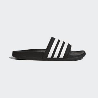 Sandalias Adilette Cloudfoam Plus Stripes Core Black / Cloud White / Core Black AP9966