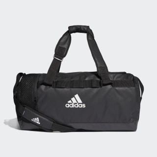 Bolsa deportiva mediana Convertible Training Black / Black / White DT4814