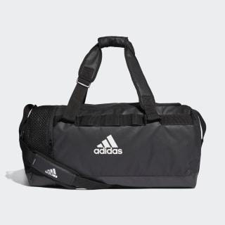 กระเป๋า Convertible Training Duffel ขนาดกลาง Black / Black / White DT4814