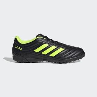 Футбольные бутсы Copa 19.4 TF core black / solar yellow / core black BB8097