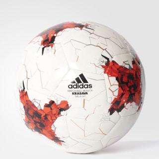 Balón 5x5 Fútbol Sala Copa FIFA Confederaciones WHITE/BRIGHT RED/RED/BLACK /SILVER MET./PANTONE/PANTONE AZ3200