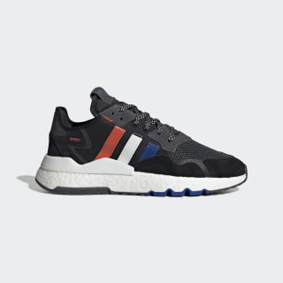 Nite Jogger Shoes Core Black / Power Blue / Cloud White EG2860