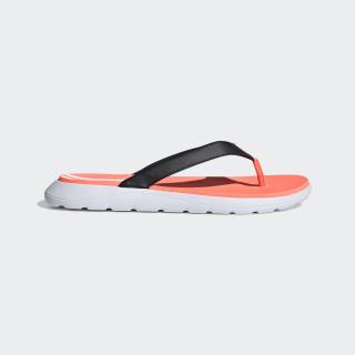Comfort Flip-Flops Core Black / Cloud White / Signal Coral EG2064
