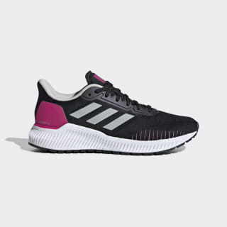 Zapatillas Solar Ride core black/GREY ONE F17/real magenta EF1444