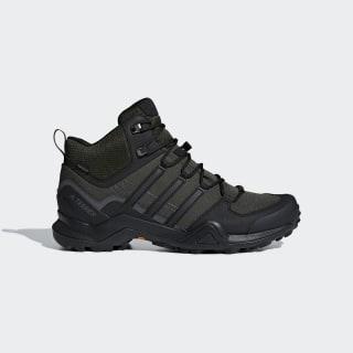 Terrex Swift R2 Mid GORE-TEX Hiking Shoes Night Cargo / Core Black / Grey AC7772