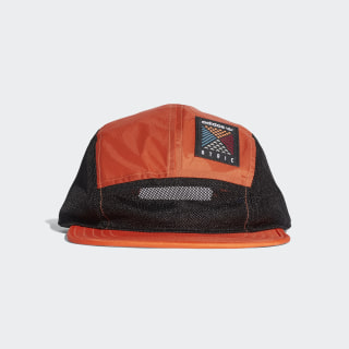 Atric Five-Panel Cap Trace Orange/Black CE2368