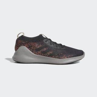 Кроссовки для бега Purebounce+ carbon / core black / true orange F36685