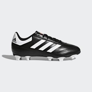 Zapatos de fútbol para pasto natural seco Goletto 6 Core Black / Cloud White / Solar Red AQ4285