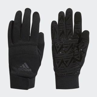 Football Street Gloves Black / Solar Red FI9354