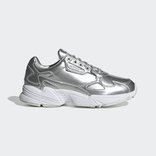 Falcon Shoes Silver Metallic / Silver Metallic / Crystal White FV4317