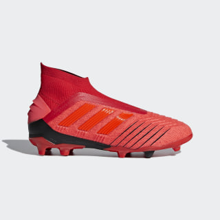 Predator 19+ Firm Ground Boots Active Red / Solar Red / Core Black CM8525