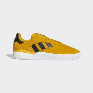 Tenis 3 Stripest.004 Yellow / Core Black / Gold Metallic EE6161