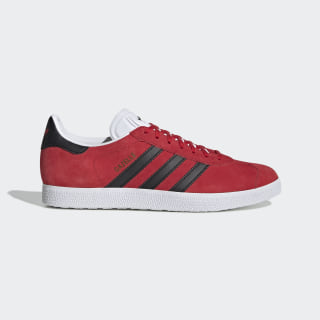 Gazelle Shoes Scarlet / Core Black / Cloud White EE5521