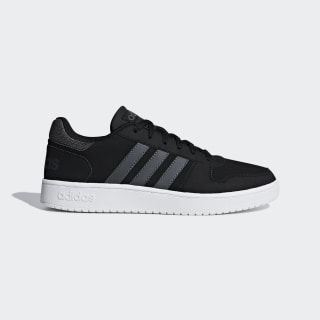 Hoops 2.0 Schuh Core Black / Grey Six / Ftwr White F34852
