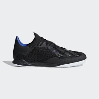 Zapatilla de fútbol sala X Tango 18.3 Indoor Core Black / Core Black / Bold Blue D98078
