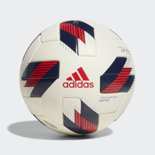 MLS Official Match Ball Chalk White / Strong Red / Night Sky DM2092