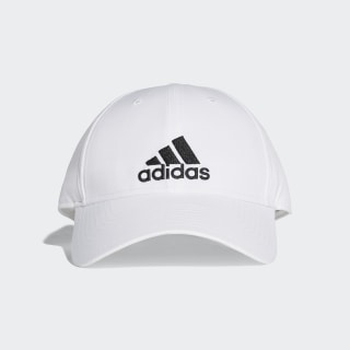 Gorra Classic Six-Panel Lightweight White / White / Black BK0794