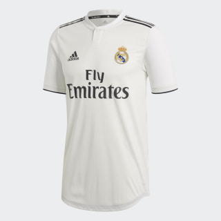Real Madrid Home Authentic Jersey Core White / Black CG0561