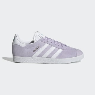 Gazelle Shoes Purple Tint / Cloud White / Glory Green EF6508
