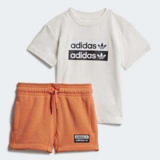 Súprava R.Y.V. Shorts and Tee Core White ED7719
