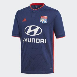 Olympique Lyonnais udebanetrøje Dark Blue / Hi-Res Red CK3249