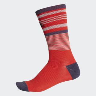 Tour Stripe Crew Socks Hi-Res Red CF8395