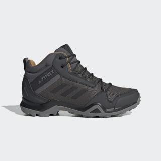Terrex AX3 Mid GORE-TEX Yürüyüş Ayakkabısı Grey Five / Core Black / Mesa BC0468
