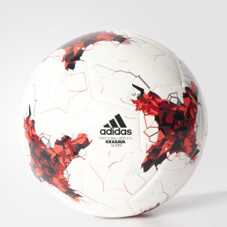 Футбольный мяч Confederations Cup Glider white / bright red / red / black AZ3188