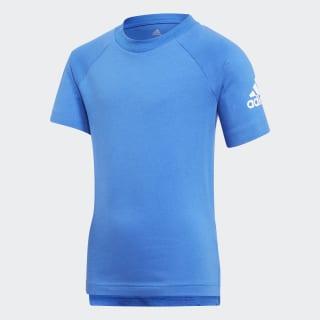Playera Cotton BLUE/WHITE CF6608