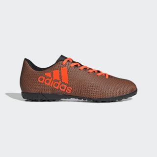 Calzado de Fútbol X 17.4 Césped Artificial CORE BLACK/SOLAR RED/SOLAR ORANGE S82416