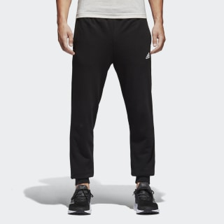 Essentials French Terry Pants Black / White BK7433