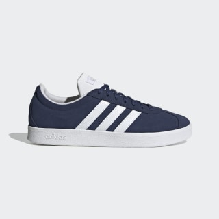 Sapatos VL Court Tech Indigo / Cloud White / Matte Silver EG4107